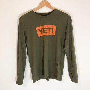 Yeti Long Sleeve Tee Shirt Size Large